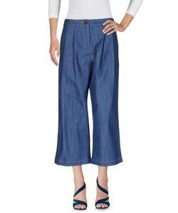 Adam Lippes   Denim Denim Trousers Women On