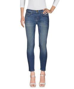 Current/Elliott | Denim Denim Trousers Women On