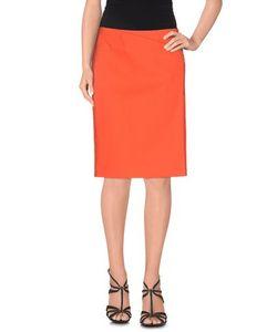 Cédric Charlier   Cedric Charlier Skirts Knee Length Skirts Women On