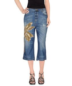 Laneus | Denim Denim Capris Women On