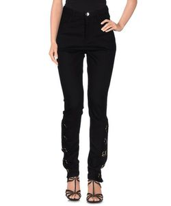 Anthony Vaccarello | Denim Denim Trousers Women On