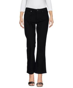 Victoria, Victoria Beckham | Denim Denim Trousers On