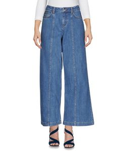 Saloni | Denim Denim Trousers Women On