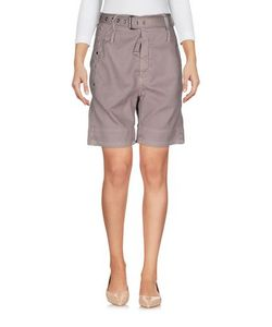 High | Trousers Bermuda Shorts On
