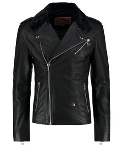 Goosecraft | Perfekto Leather Jacket Schwarz