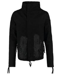 Army Of Me   Zip Up Denim Jacket Coatedpainted