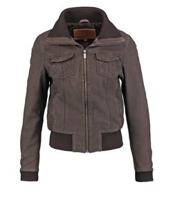 Goosecraft | Leather Jacket Chocolate