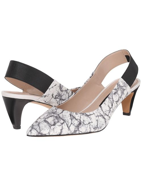 French Connection | Black Kourtney /White/ Womens Shoes