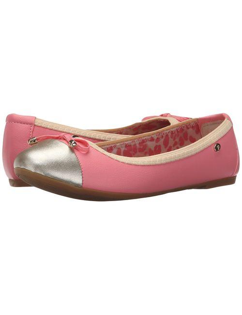 Pampili | Pink Sapatilha Slim 211.046 Little Kid/Big Kid Flamingo/Dourado