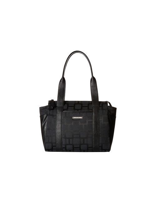 Nine West | Black Split The Difference Satchel / Satchel Handbags