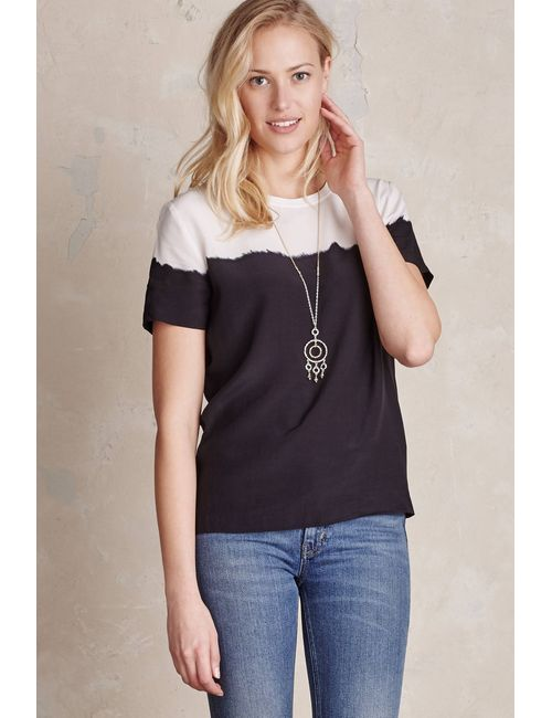 Second Female | Women's Navy Elina Dip Dyed Top