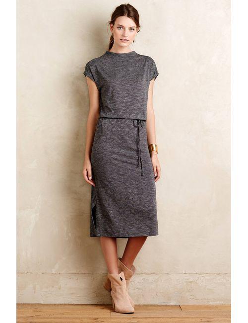 Dolan | Women's Gray Emele Jersey Midi Dress