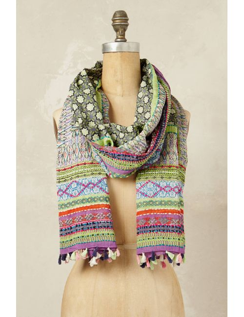 Anthropologie | Women's Assorted Agadir Printed Scarf