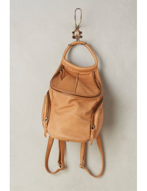 CNP | Women's Neutral Beau Leather Backpack
