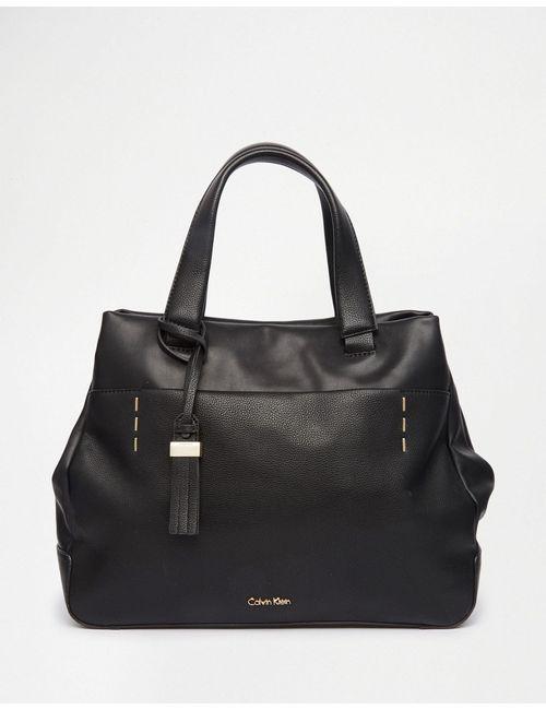 Calvin Klein   Women's Black Lily Tote Bag