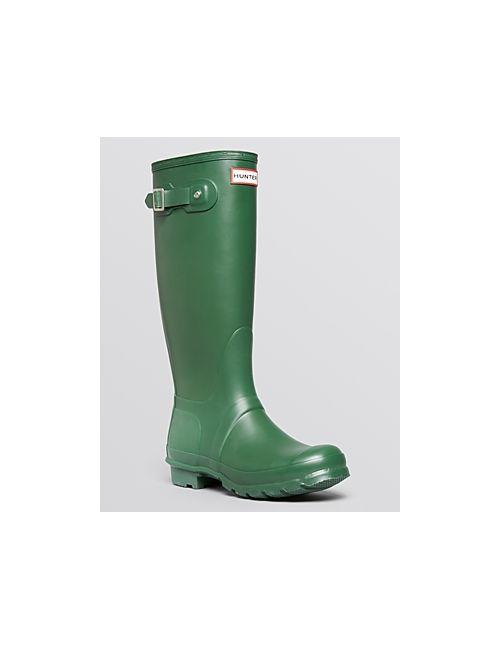 Hunter | Women's Green Womens Original Tall Boots