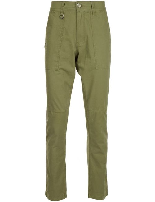 Publish | Men's Green Straight Leg Trousers
