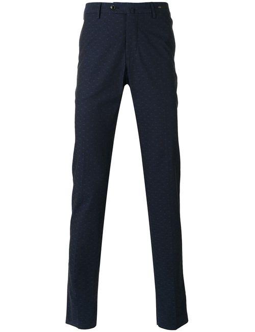 Pt01   Men's Dark Blue Printed Crosses Skinny Jeans 46 Cotton/Spandex/Elastane