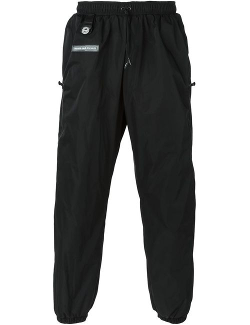 Nasir Mazhar | Men's Black Technical Twill Track Trousers