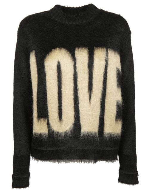 Givenchy | Women's Black Love Printed Sweater