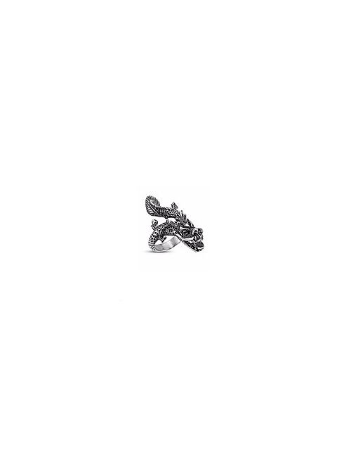 Monsieur | Men's The Flying Dragon Ring In Silver Jewelry