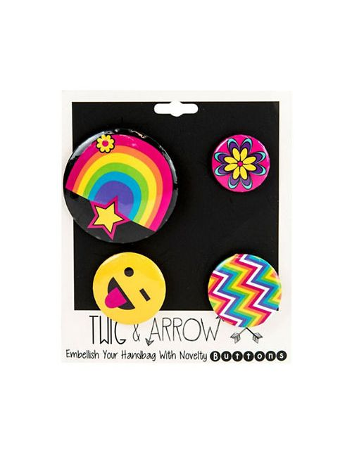 Twig + Arrow | Women's Rainbow Gym And Taco Pins