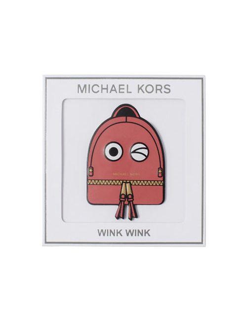 Michael Michael Kors   Pink Wink Wink Leather Sticker