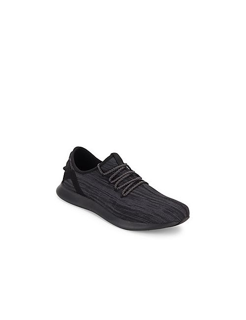 Steve Madden | Men's Black Roundtoe Lace-Up Sneakers
