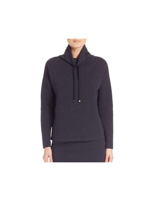 Akris Punto | Women's Denim Funnel Neck Pullover