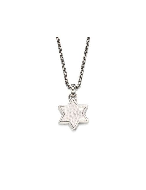 John Hardy | Men's No Color Classic Chain Collection Star Pendant Necklace
