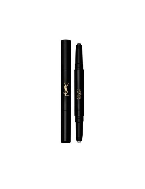 Saint Laurent | Gray Yes The Shock Collection Eye Duo Smoker