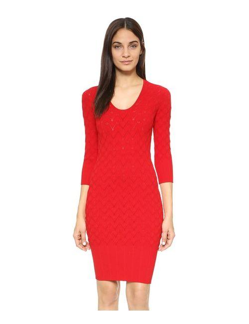 Yigal Azrouel | Women's Carmine Acanthus Dress