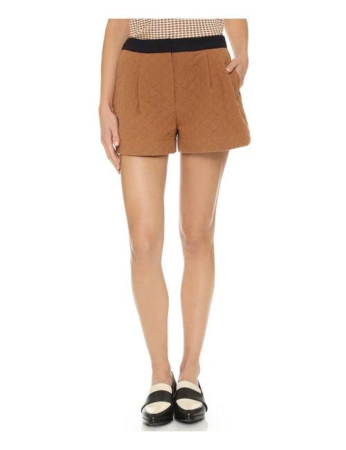 3.1 Phillip Lim   Women's Caramel Utility Shorts