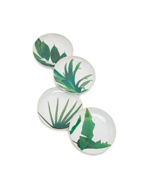 Gift Boutique | Women's White Botanical Plates