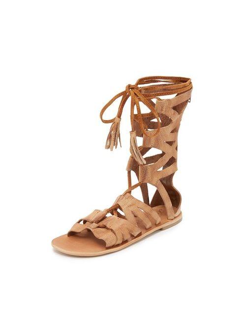 Free People | Beige Mesa Verde Gladiator Sandals
