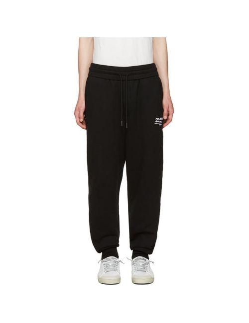 Off-White | Men's Black Off Lounge Pants