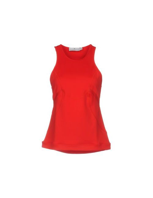 Adidas by Stella McCartney | Red Topwear Vests On