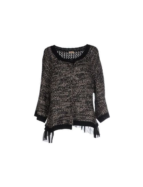 DON'T MISS YOUR DREAMS | Black Knitwear Cardigans Women On