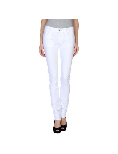 JCOLOR | White Trousers Casual Trousers Women On