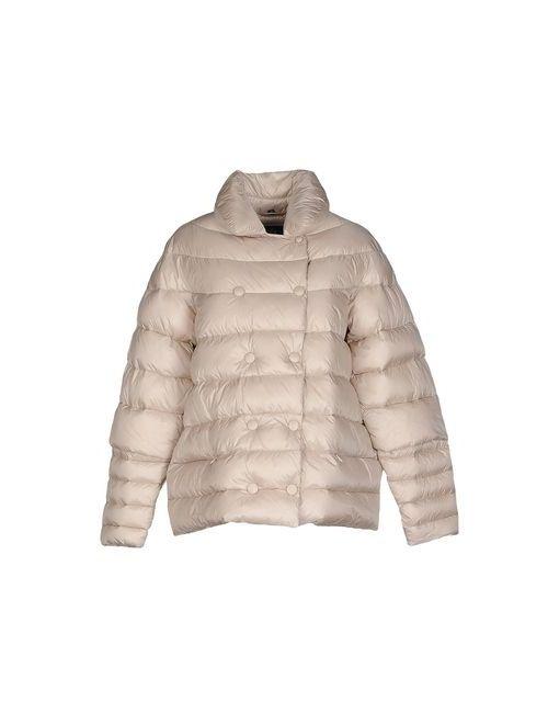 [C] STUDIO   Beige Coats Jackets Down Jackets Women On
