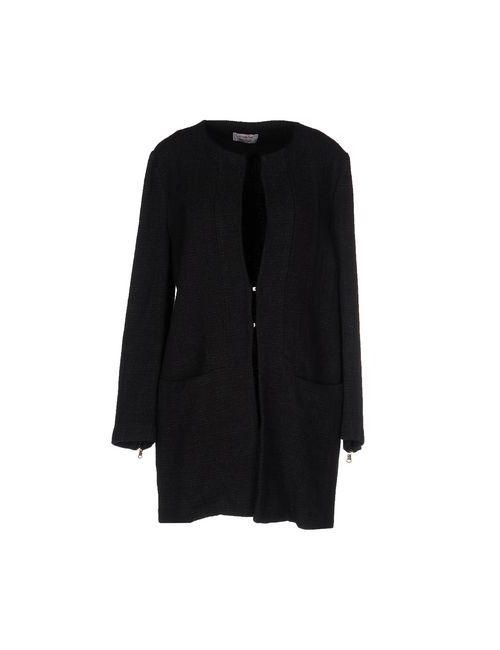 TWENTY EASY BY KAOS | Black Coats Jackets Full-Length Jackets Women On