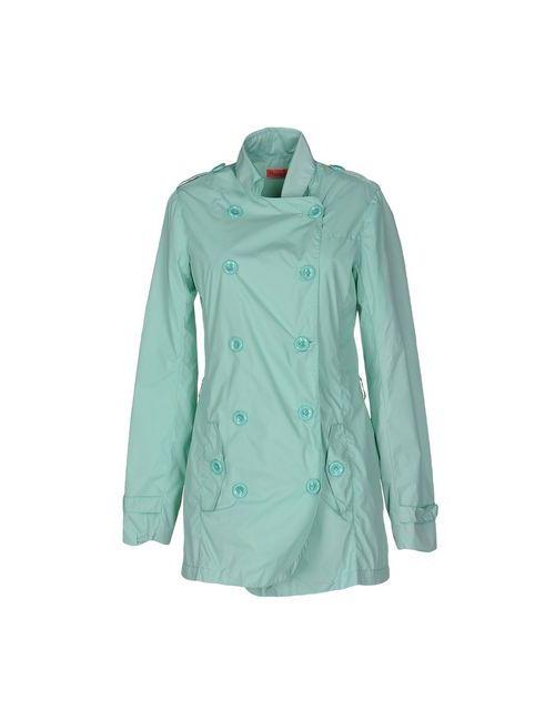 MANILA GRACE DENIM | Dark Blue Coats Jackets Full-Length Jackets Women On