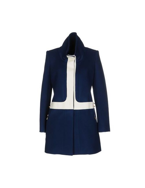 Just Cavalli | Dark Blue Coats Jackets Coats Women On