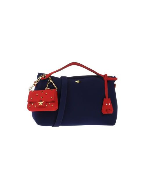 LA FILLE DES FLEURS | Women's Dark Blue Bags Handbags Women On