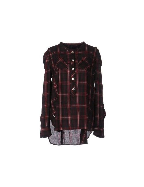 High | Maroon Shirts Blouses Women On