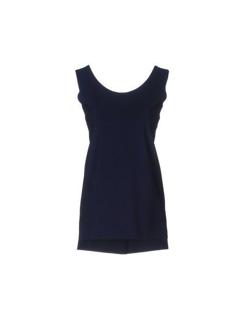 ALMERIA | Dark Blue Topwear Vests Women On
