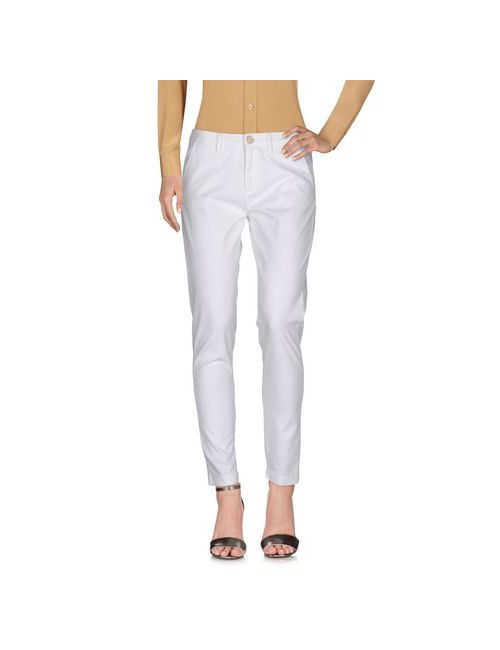 PINKO BLACK | White Trousers Casual Trousers Women On