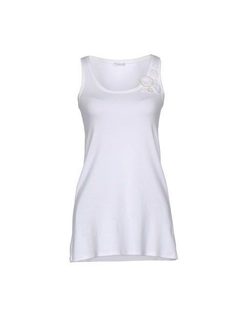 RIVAMONTI | White Topwear Vests On