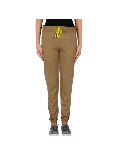 SCAGLIONE | Khaki Trousers Casual Trousers Women On