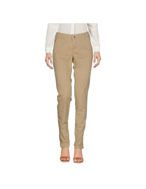 9.2 BY CARLO CHIONNA   Beige Trousers Casual Trousers Women On